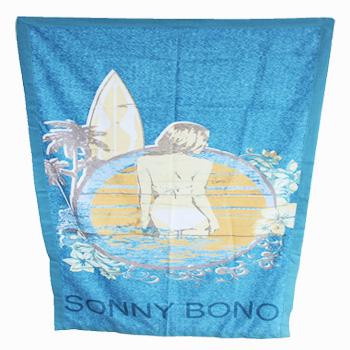 印花沙滩巾(海的女儿)