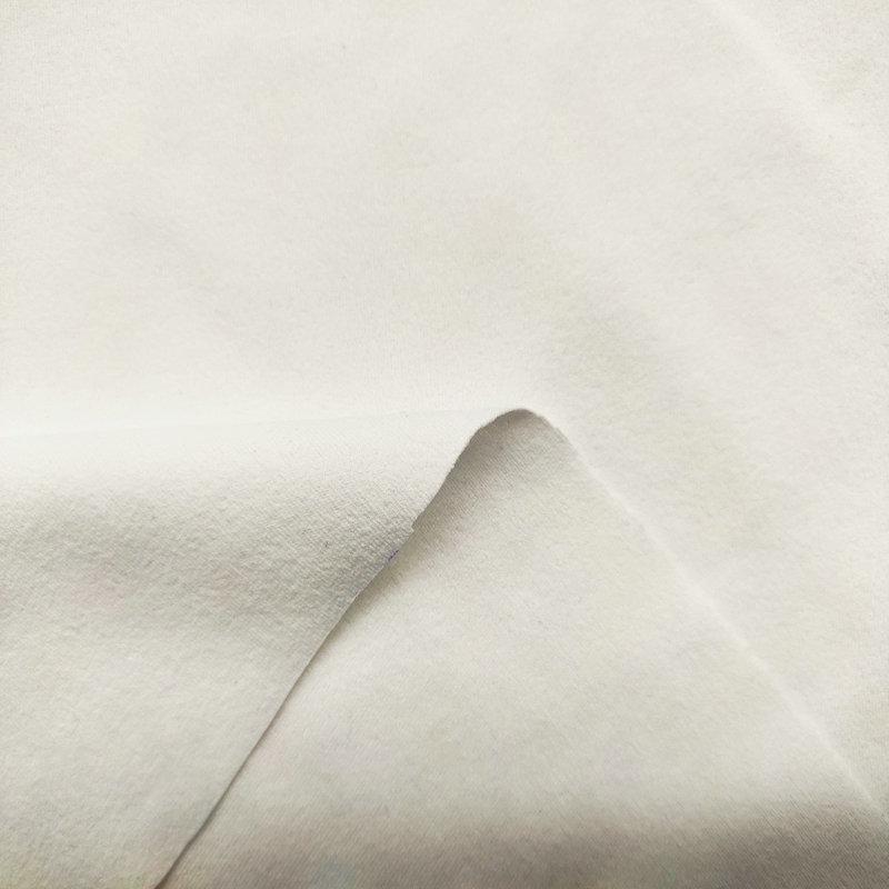 绒感仿棉环保无氨弹力布1#(光触媒抗菌吸排)
