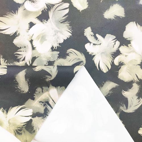 50D无氨弹力仿梭织(光触媒抗菌吸排)-羽毛
