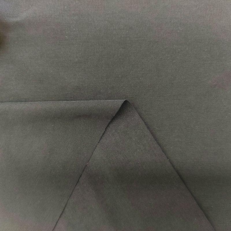 50D无氨弹力环保竹节单面布(光触媒抗菌吸排)