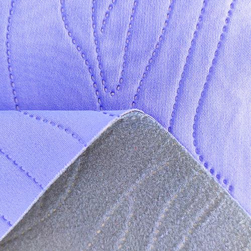 50D消光双面布+TPU+150G摇粒绒-3D压花